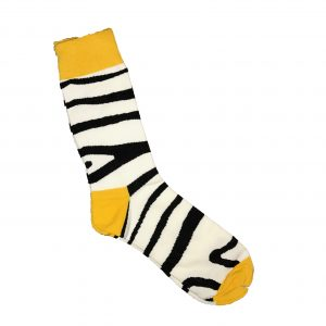 Zebra Stripes Sock –  2