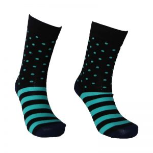 Dot Stripe Sock – 17
