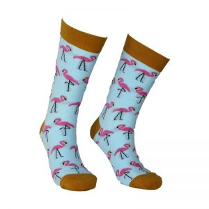 Blue Flamingo Sock – 6