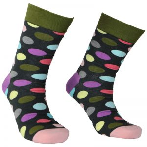 Colourful Dots Sock – 115